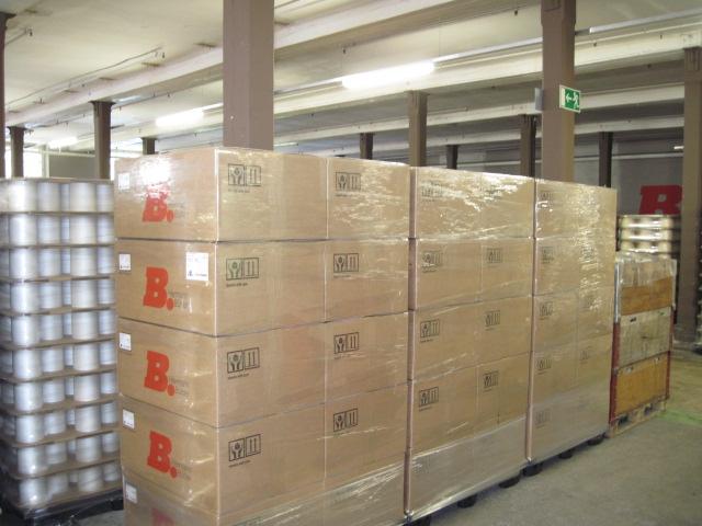 ヘルマンビューラー 梱包出荷